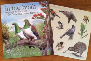 In the Bush, includes a pull-out bird identification card