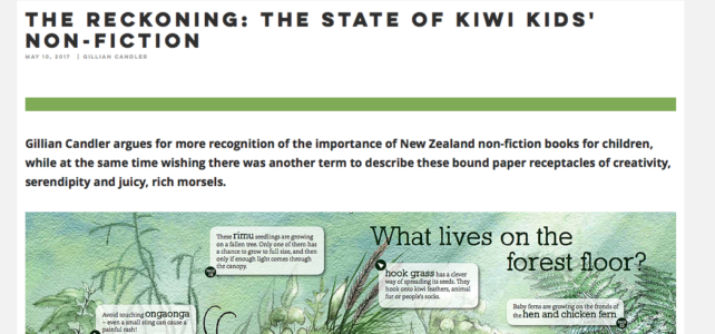 The State of Children's Non-Fiction in New Zealand