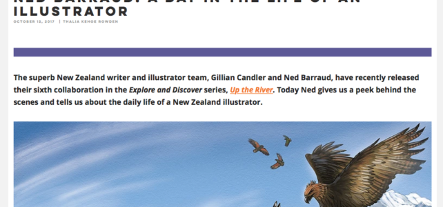 About Illustrating – Link to Interview with Ned Barraud