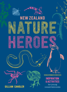 Cover of New Zealand Nature Heroes book
